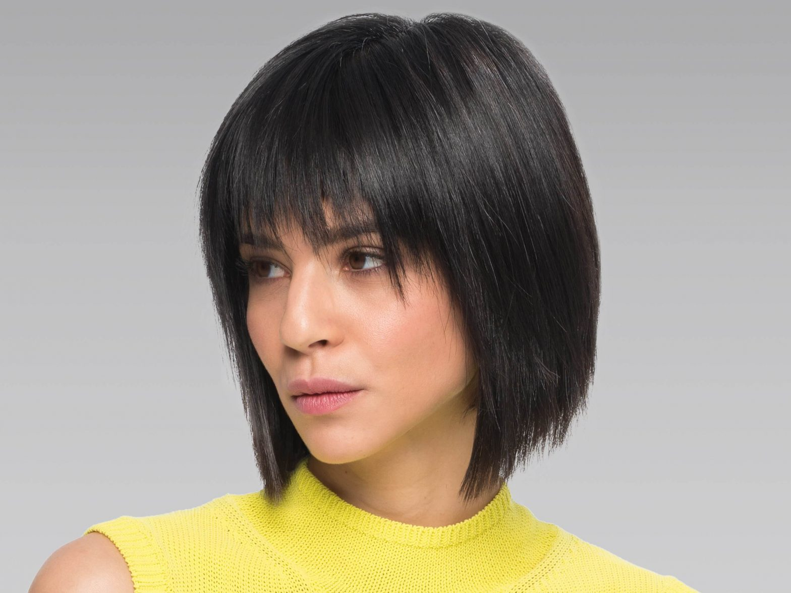 Classic Bob Haircut for Those Who Are Over Seventy